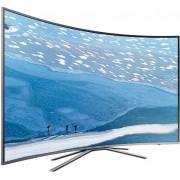 Televizor LED Samsung UE43KU6502, curbat, Ultra HD, smart, PQI 1600, USB, 43 inch, DVB-T2/C/S2, argintiu