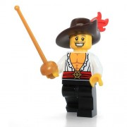 LEGO Series 12 Collectible Minifigure 71007 - Swashbuckler