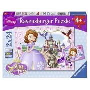 Ravensburger Disney Sophia The First: Sofia'S Royal Adventures (2 X 24 Pc Puzzles)