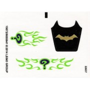 "Lego Original Sticker Sheet for Super Heroes Set #76012 ""Batman: The Riddler Chase"""