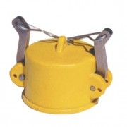 """Coupler End Cap with SS Handle - 2"""" - 4ZCNZDC200S"""
