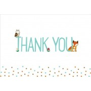 Woodland Friends Thank You Notes (Stationery, Note Cards, Boxed Cards)