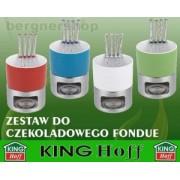 ZESTAW FONDUE CZEKOLADOWE KINGHOFF KH-4169