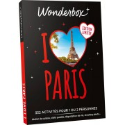 Wonderbox - Coffret cadeau - I love Paris- Spécial Noël - Tous nos coffrets