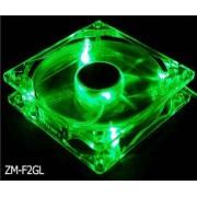 Zalman ZM-F2 Gehaeuseluefter mit gruenen LEDs - 9.2cm