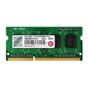 Transcend TS256MSK64V3N Memoria 2 GB DDR3 SO-DIMM 204-pin, Nero