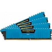 Memorie Corsair Vengeance LPX 16GB Kit 4x4GB DDR4 2400MHz CL14 Blue