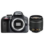 Nikon D3300 kit (AF-P 18-55mm VR) (gri)