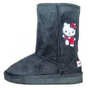Cizme gen UGG Hello Kitty negru