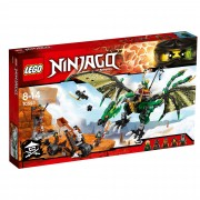 Lego Ninjago Green NRG Dragon 70593