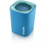 SPEAKER, Philips Wireless Portable Speaker, Bluetooth, 2W RMS, Blue (BT100A)