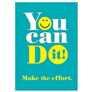 ARGUS You Can Do It! Poster (1 Piece) 13.38 x 19