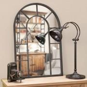 Maisons du monde Specchio in metallo effetto ruggine H 90 cm CHEVERNY