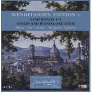 F. Mendelssohn-Bartholdy - Symphony No.1-5 (0825646927296) (4 CD)
