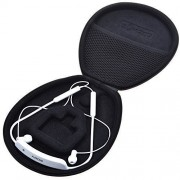 Cosmos Black Color Pu Leather Protection Carrying Case Cover Box for Sony SBH80 Bluetooth Headset & Motorola Buds SF500