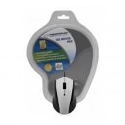 Mouse Esperanza Optical EM125E Grey cu Mousepad