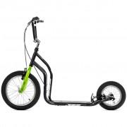 Yedoo черно-зелен градски скутер