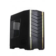 SilverStone RV03B-W Case PC Big Tower Raven 3 con Finestra, Nero