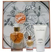 Hermes Jour d` Hermes Absolu Woda perfumowana 50ml spray do uzupełniania + 7,5ml bez sprayu + Balsam do ciała 30ml