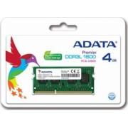 Memorie Laptop ADATA 4GB DDR3L 1600MHz CL11