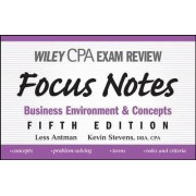 Wiley CPA Examination Review Focus Notes by Less Antman