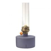 Klong Patina Oljelampa stor Blå/klar