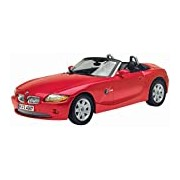 "Motormax GOTZMM73144RD 1:18 Scale Red ""BMW Z4"" Die Cast Model Car"