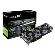 Inno3D N98TV-1SDN-N5HNX GeForce GTX 980 Ti 6Go GDDR5 carte graphique - cartes graphiques (NVIDIA, GeForce GTX 980 Ti, 5120 x 3200 pixels, 2048 x 1536 pixels, 5120 x 3200 pixels, GDDR5)