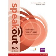 Speakout Elementary: Teacher's Guide with Resource & Assessment Disc Pack by Matthew Duffy