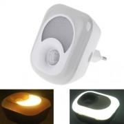 ILS 2 in 1 2 W LED PIR Motion Sensor Lamp/Motion sensor lámpara luz de noche,