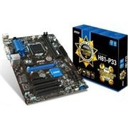 MSI H81M-P33 LGA 1150 Motherboard - Supports 4th