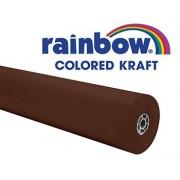 RAINBOW KRAFT ROLL 100FT BROWN