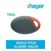 HAGER Badge Tagil pour alarme Logisty Hager