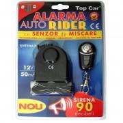 Alarma auto cu senzor de soc Top Car, 12V 50mA