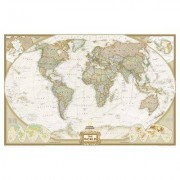 "National Geographic Maps World Executive Wall Map RE00622085 Map Type: Standard Size (30"""" x 46"""") - Laminated"