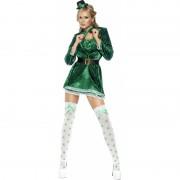 Sexy dames kostuum groen