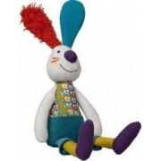 Jucarie bebelusi Ebulobo Jef the Rabbit Doll