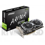 MSI GeForce GTX 1060 ARMOR 3G OCV1 3GB DDR5 192bit - Raty 20 x 47,55 zł