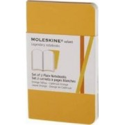 Moleskine Volant Extra Small Plain Orange Yellow & Cadmium Orange 2-set by Moleskine
