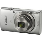 Canon IXUS 175 Digital Camera (Silver) with 8GB Memory Card and Camera Case
