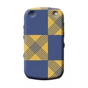 Garmor African Pattern Design Plastic Backcover for blackberry-curve 9320- (Black) (African 2)