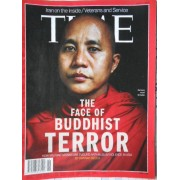Time N°26 Du 01/07/2013 : The Face Of Buddist Terror, Muslim Iran, Veterans,