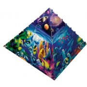 300 Piece Worlds of Wonder Pyramid Puzzle Art by David Miller by MasterPieces