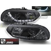 Přední světla, lampy Alfa Romeo 156 Day light černá