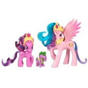 My Little Pony Friendship is Magic 3 Pack Royal Castle Friends With Twilight Sparkle Spike The Dragon and Princess Celestia