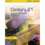 Century 21 Computer Keyboarding Lessons 1-80 by Jack P. Hoggatt