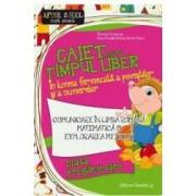 Caiet pentru timpul liber - Clasa pregatitoare comunicare si matematica - Marinela Scripcariu
