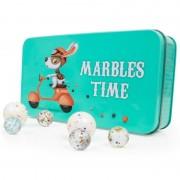 Set cu 30 de bile colorate - Marbles
