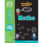 Gold Stars Maths Ages 9-11 Key Stage 2 by Parragon Books Ltd