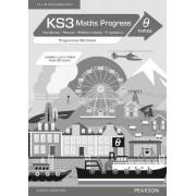 KS3 Maths Progress Progression: Workbook Theta 3